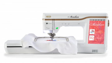 Meridian - Single-needle-embroidery Machine