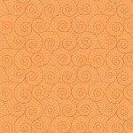 Basically Hugs - Orange Scroll