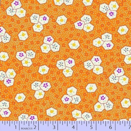 Aunt Grace - Orange print