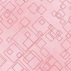 Cat-I-Tude 2- Pink Tonal Square
