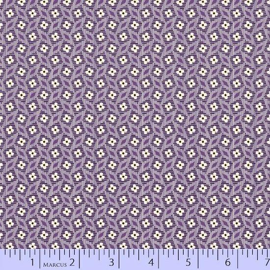 Aunt Grace - purple print