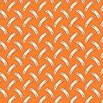 Aunt Grace Minatures II - orange print