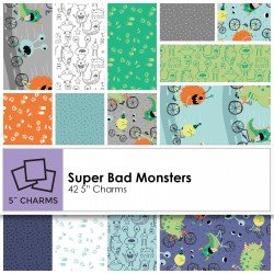 Super Bad Monsters - 5 inch charms