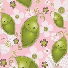 Stitched Garden - Sweet Peas