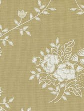 X-Wide Backing -tea stain background with white roses