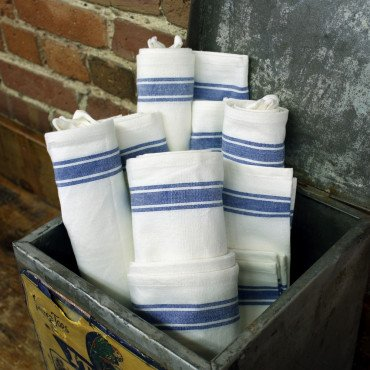 Vintage Dish Towels - Set of #3 - 18 x 28
