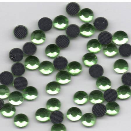 Hot Fix Crystals - 3 mm - Peridot Green