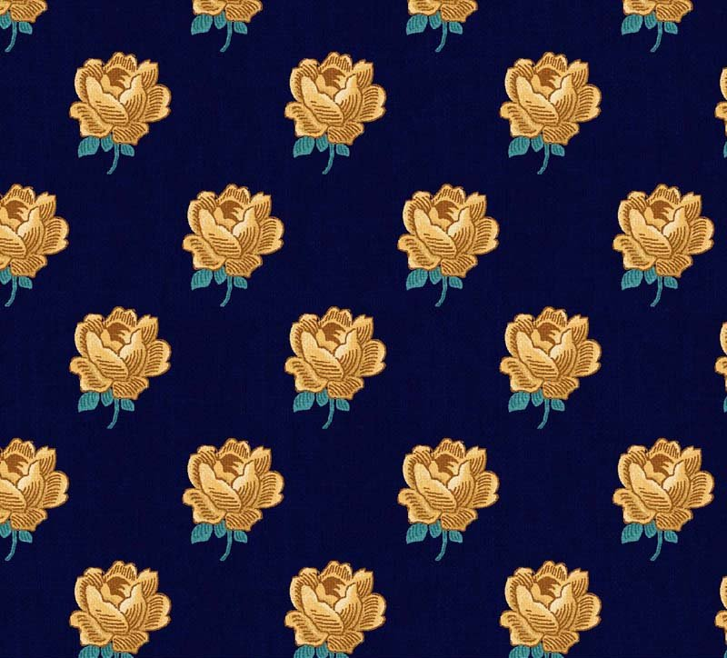 Mini-floral navy