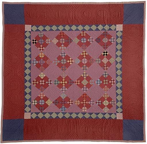 Double Nine Patch Quilt pattern