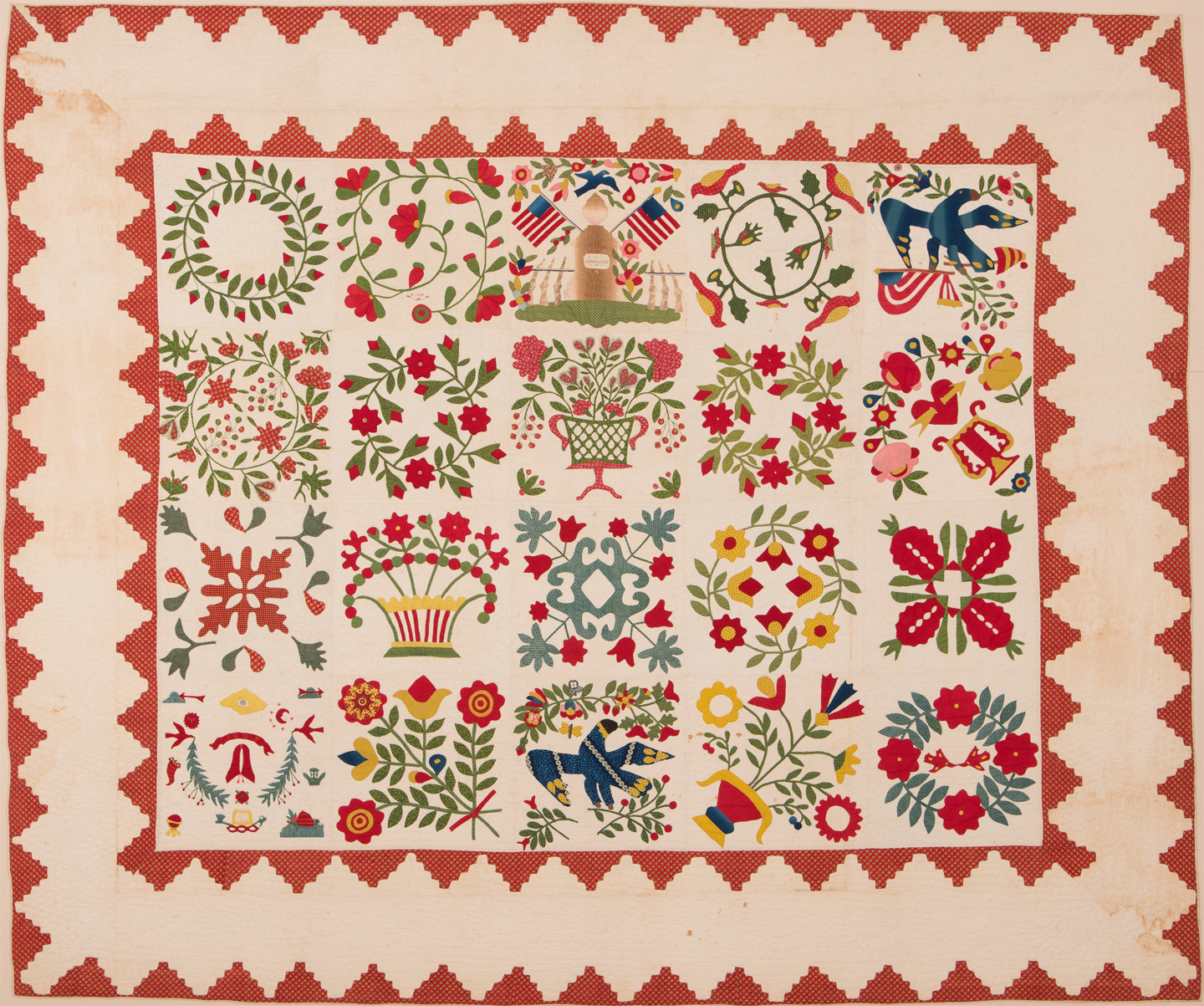 Major Ringgold Quilt pattern