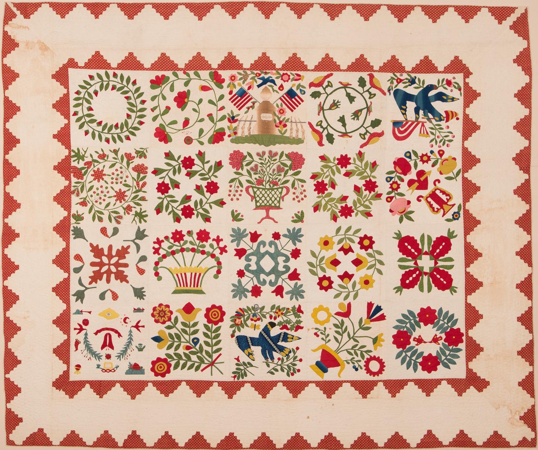 Major Ringgold Quilt pattern