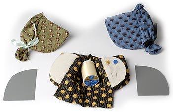 Bonnet Needlebook pattern
