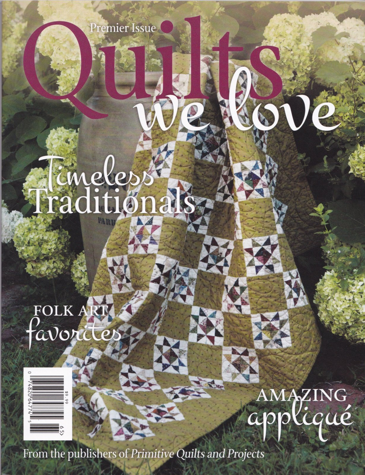 Quilts We Love Magazine