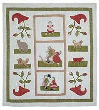 The Scenes of Childhood Quilt pattern