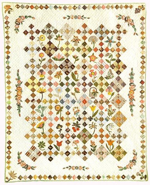 Calico Garden Quilt pattern