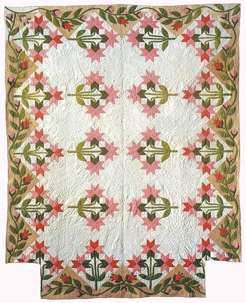 Peony Quilt pattern
