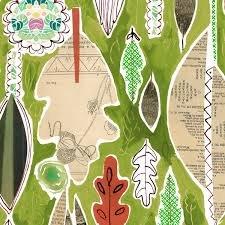 Dear Stella Spice Things Up Leaves - Multi (Min. order of 1 metre)