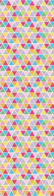 Damask Love Rainbow Fruit Triangles