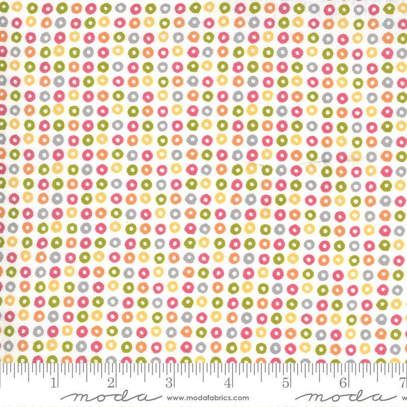 Moda Spring Chicken Cheerio Dots - Multi