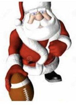 Santa with Football