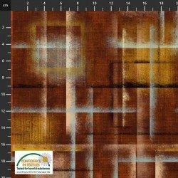 Stof Colour Brush - Brown/Gold/Aqua