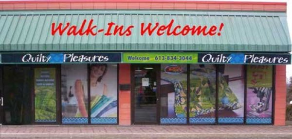 Storefront - Walk-Ins-Welcome