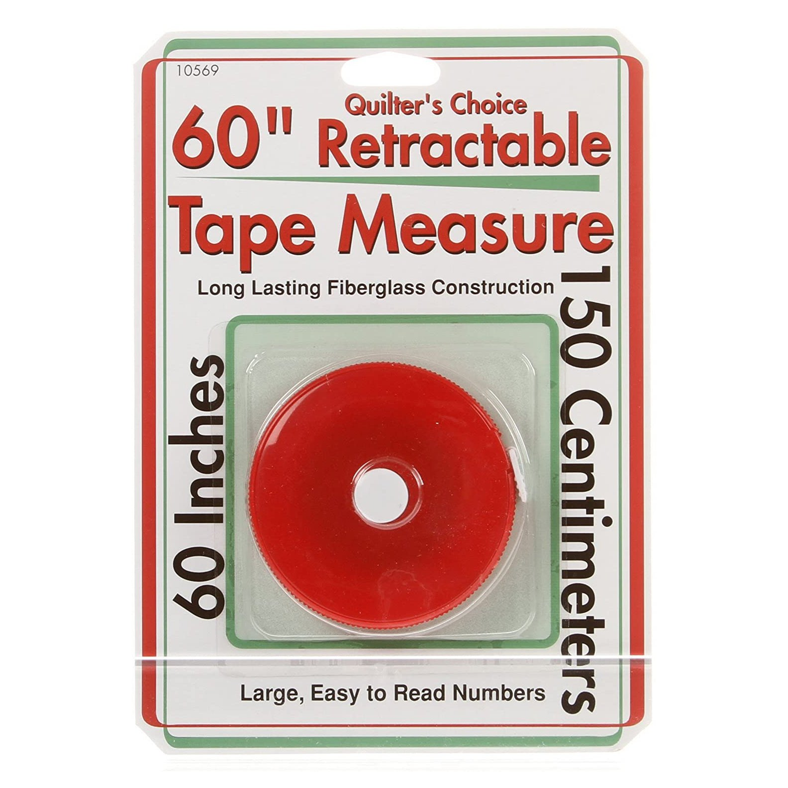 Quilter's Choice Retractable Tape Measure - 60 (150cm)