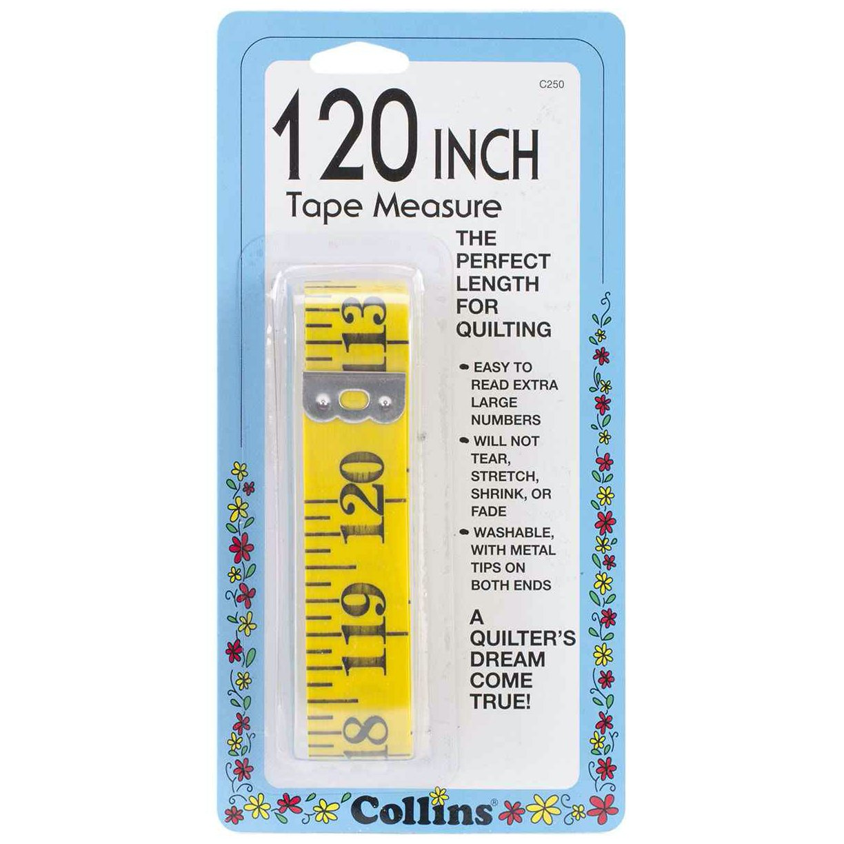 Collins Tape Measure - 120