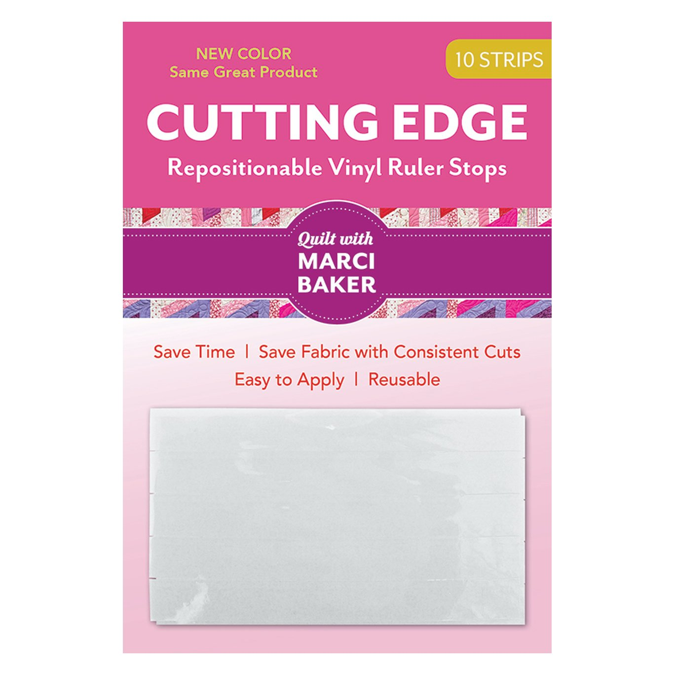 QTools Cutting Edge Ruler Stops - 10 Pack