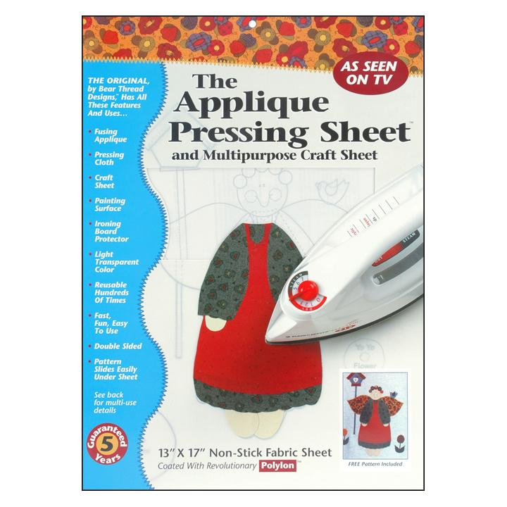 Applique Pressing Sheet -  Pickup Only