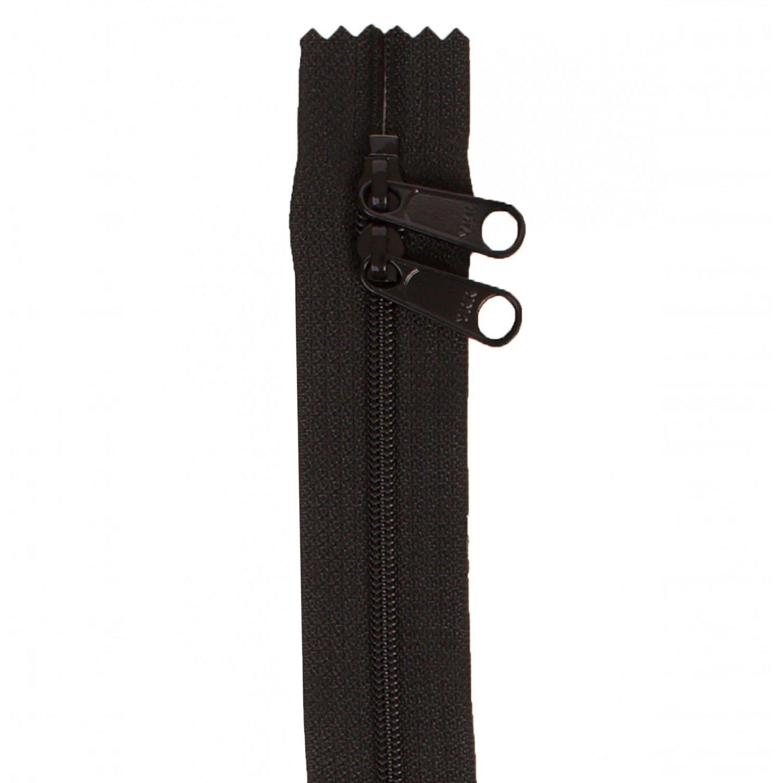 By Annie Handbag Zipper 30 - Black