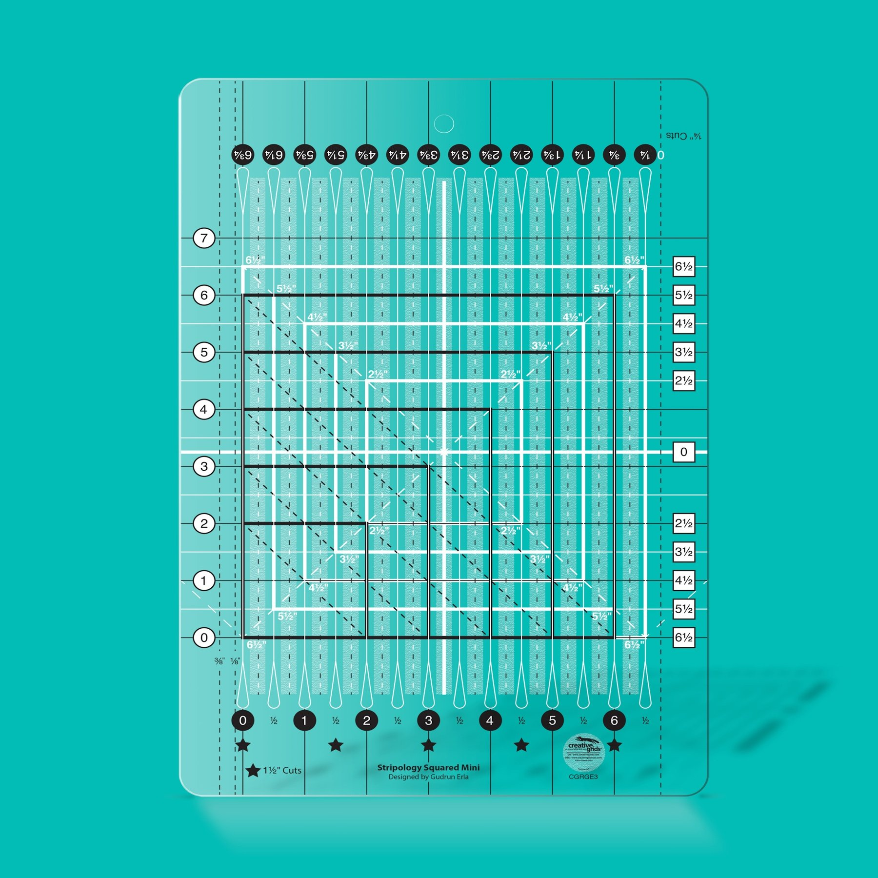 Creative Grids Ruler Stripology Mini (Curbside Pickup Only)
