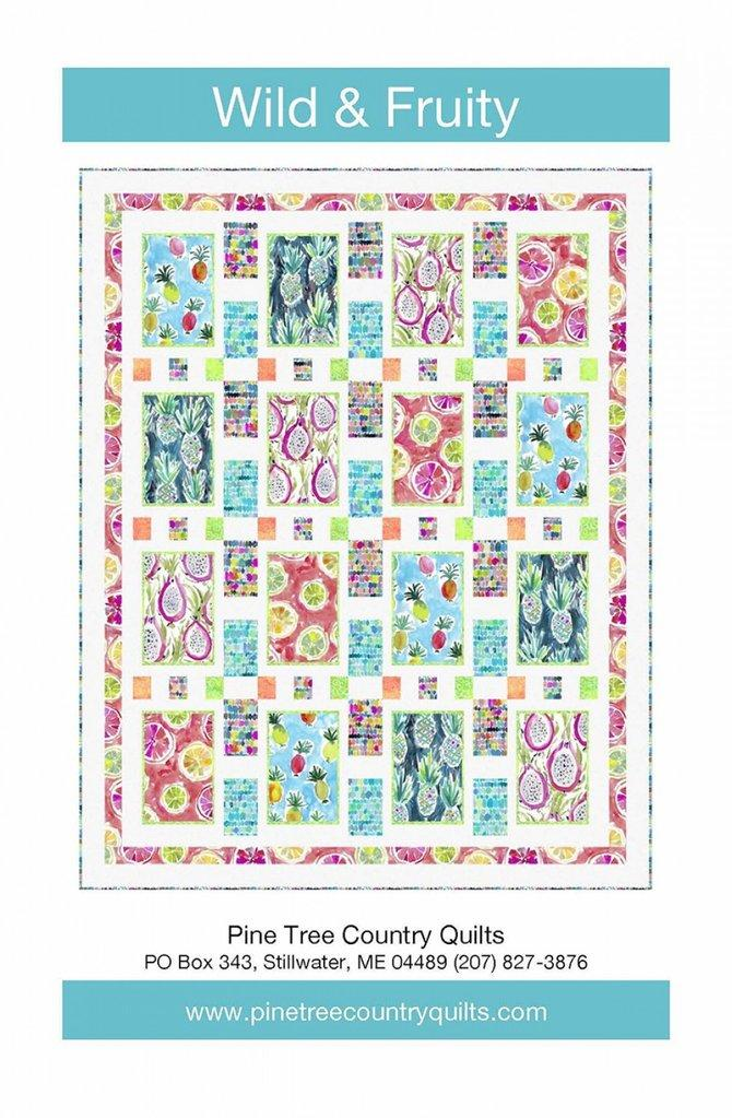 Pine Tree Country Quilts Wild & Fruity Quilt and Table Runner Pattern