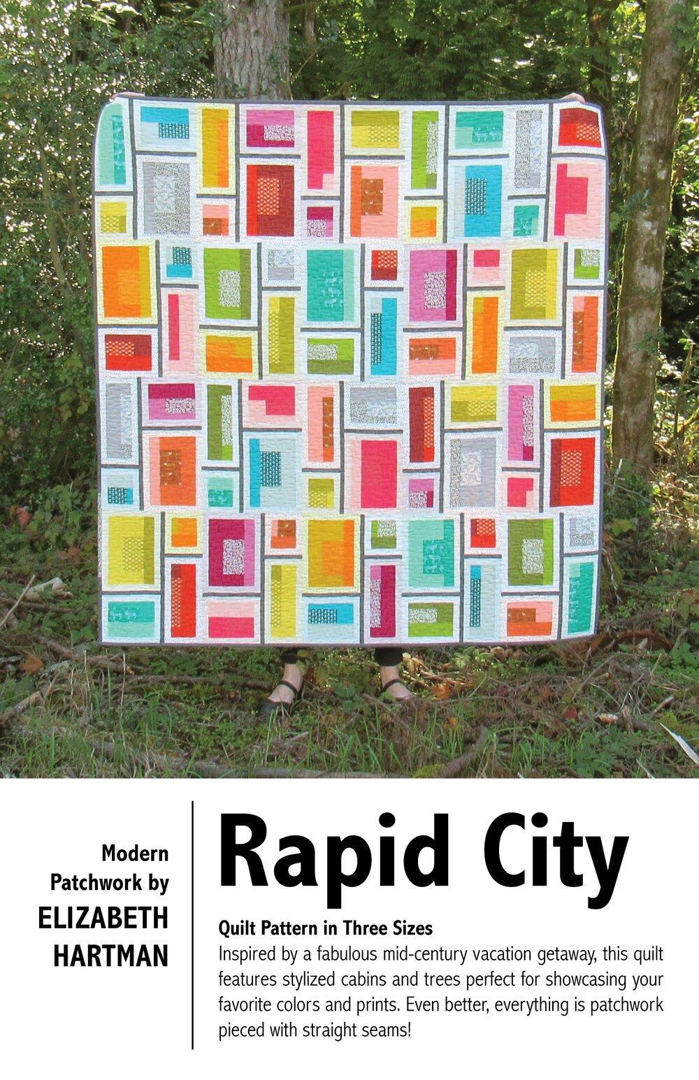 Elizabeth Hartman Rapid City Quilt Pattern
