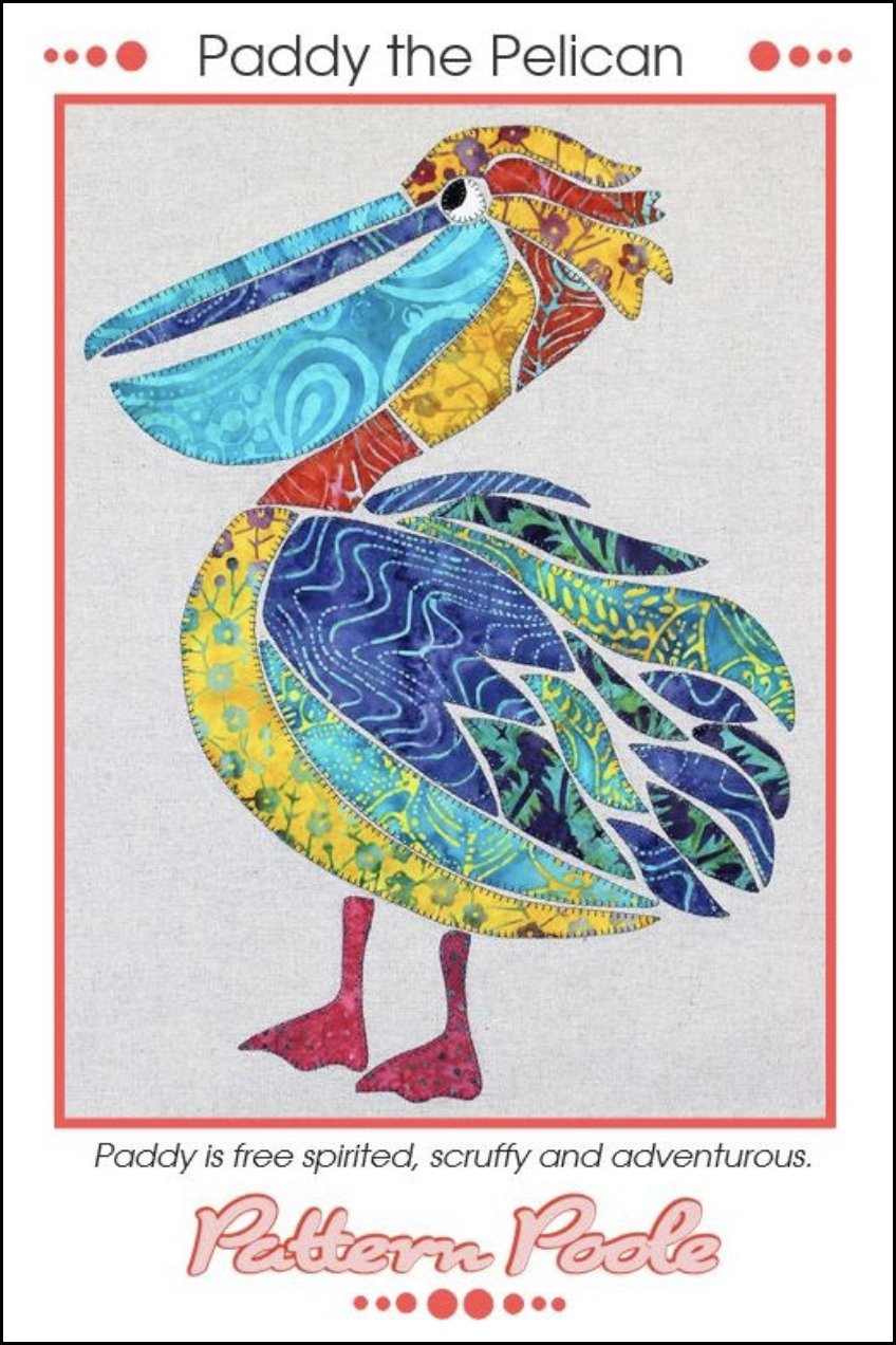 Pattern Poole Paddy the Pelican Pattern