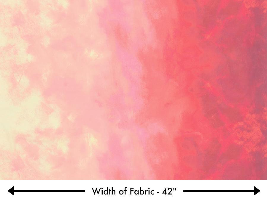 Robert Kaufman Sky - Blush (Ombre)  (0.7m remnant)