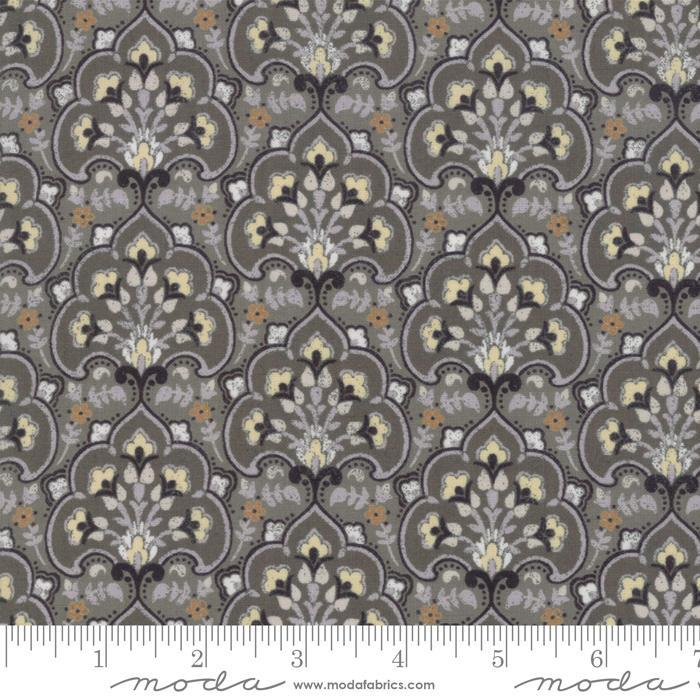 Moda Stiletto Medallions - Medium Grey (Min order 1m)