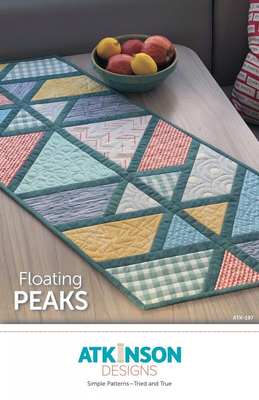 Atkinson Designs Floating Peaks Table Runner Pattern