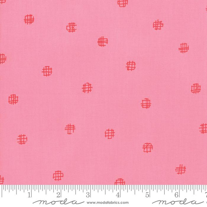 Moda Just Red Dots - Candy (min. order 1 m)