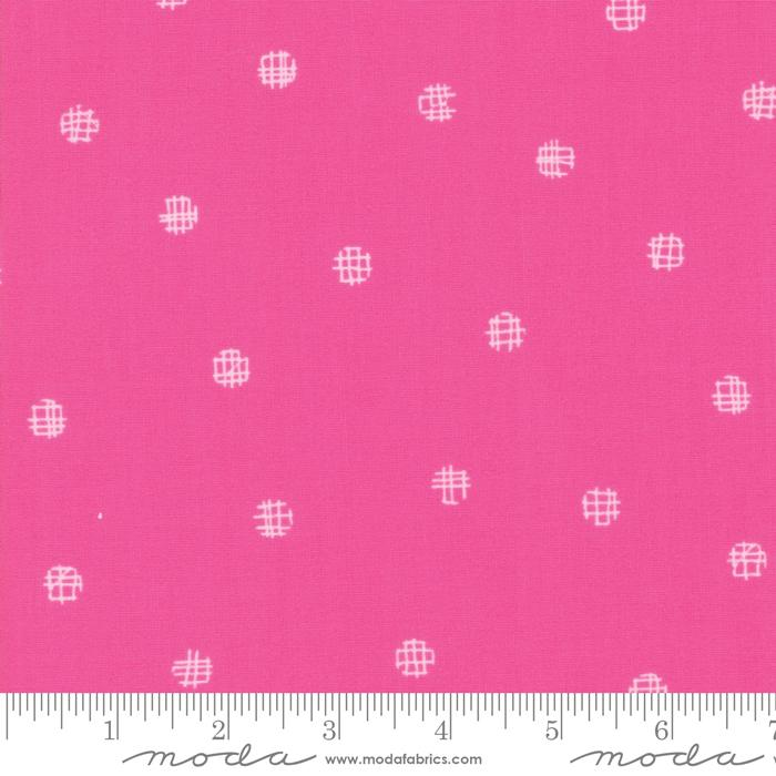 Moda Just Red Dots - Hot Pink  (min. order 1 m)