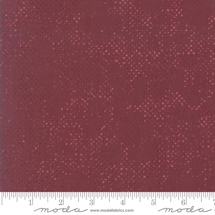 Moda Zen Chic Just Red Spotted - Merlot