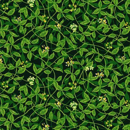 RJR Citrus Garden Lemon Leaves - Green