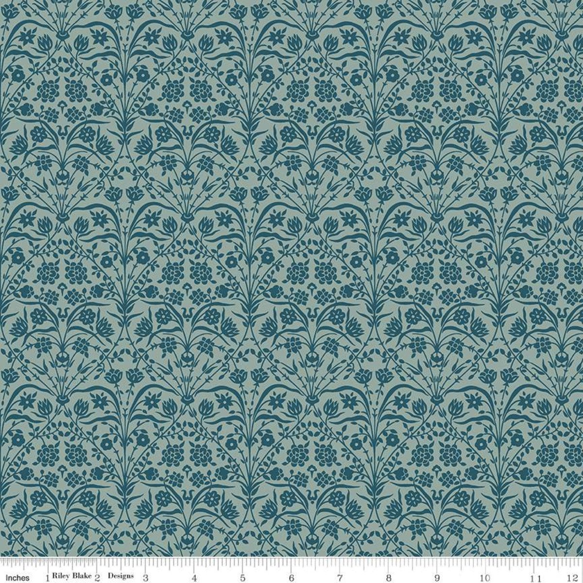 Liberty Winterbourne Bankart Silhouette - Teal
