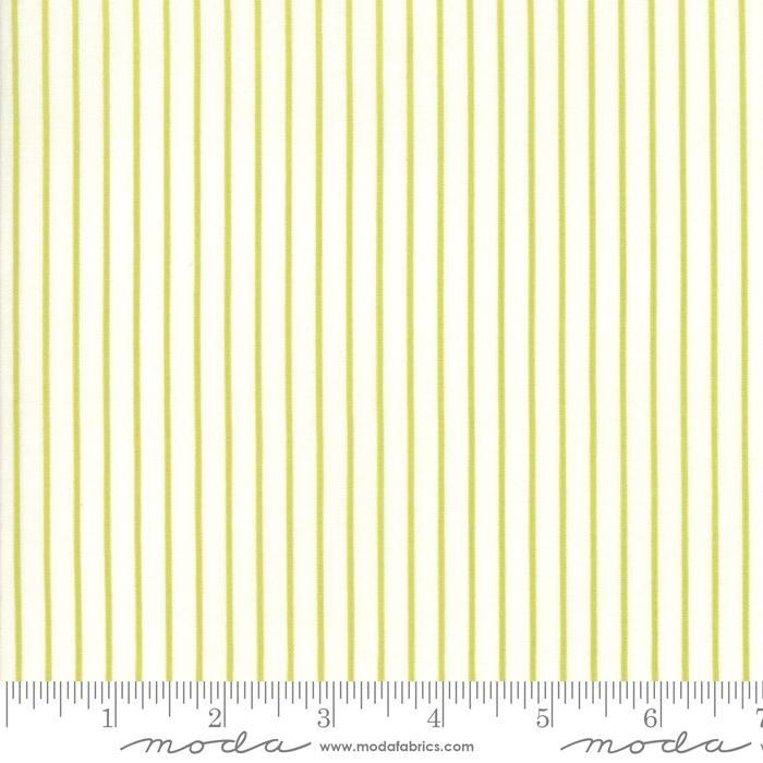 Moda Fine and Sunny Stripe - Pistachio
