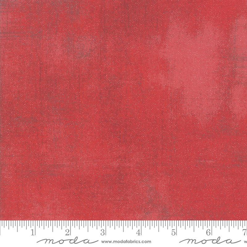 Moda Glitter Grunge - Cherry (Metallic)