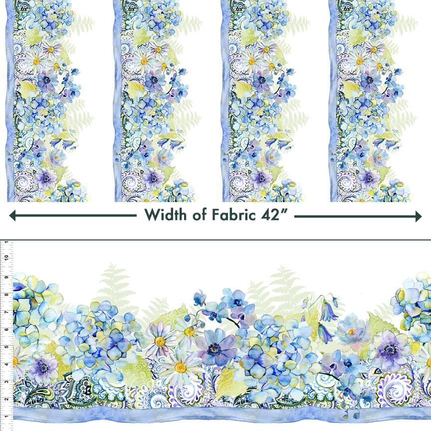 In The Beginning The Leah Collection - Border Print