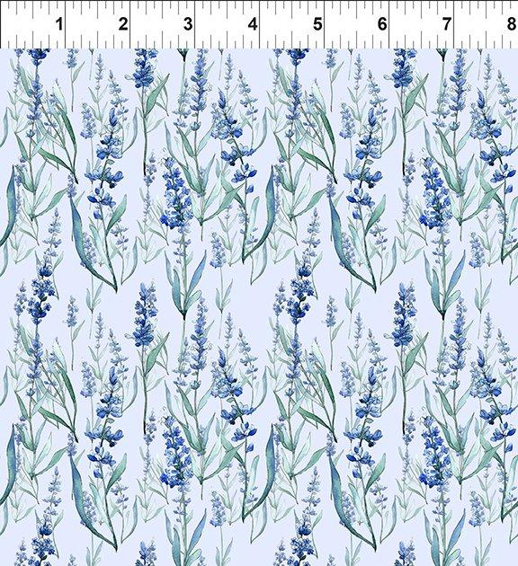 In The Beginning The Leah Collection Foxglove - Violet (Minimum Order 1 metre)