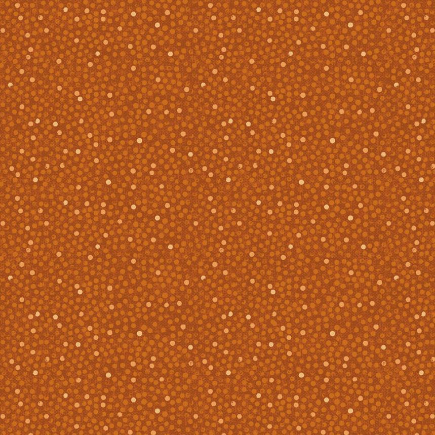 Stof Solaire Dots - Orange