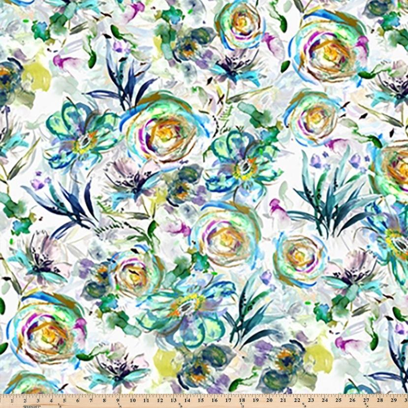 Hoffman Garden State of Mind Large Floral - Big Sur