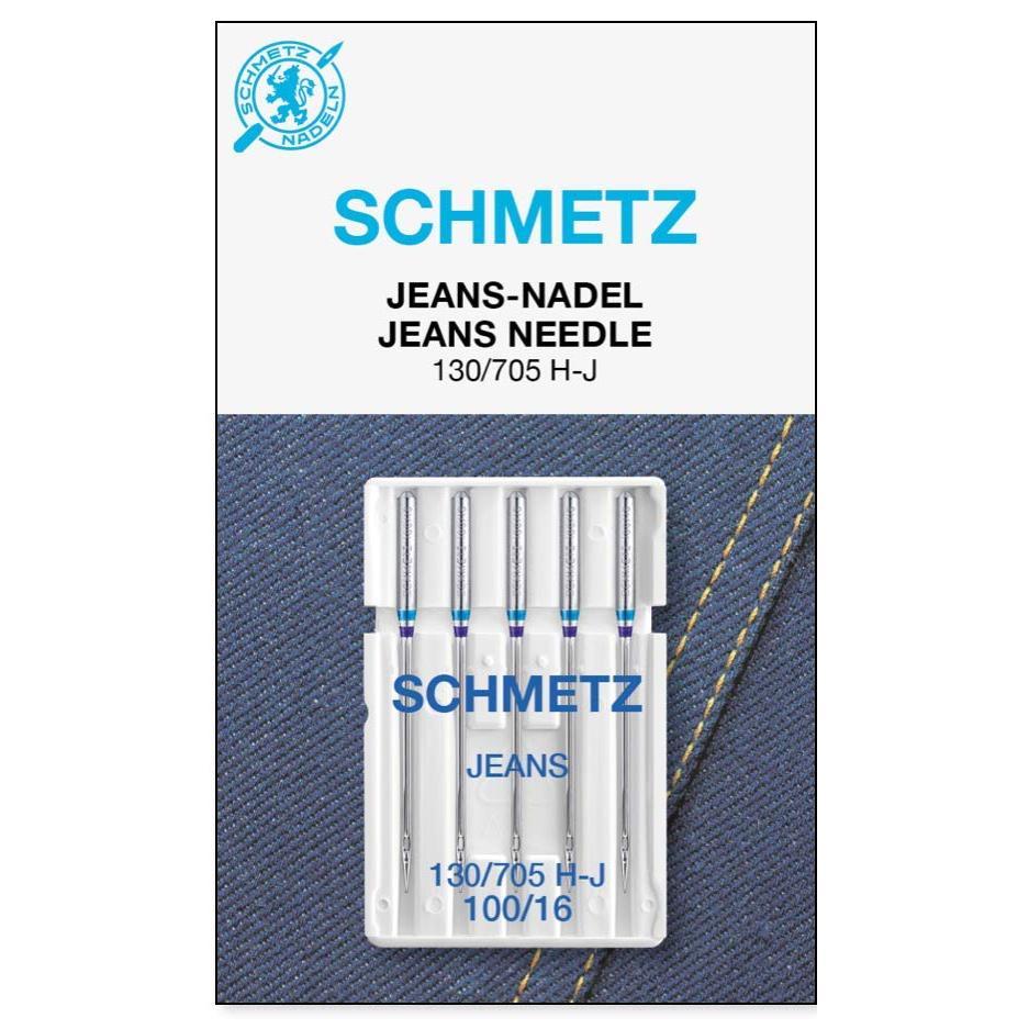 Schmetz Machine Needles Jeans - Size 100/16